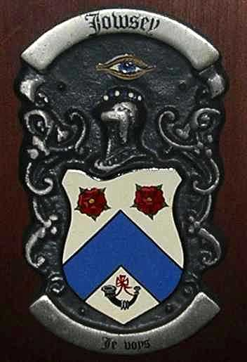 Jowsey Coat of Arms, Edinburgh
